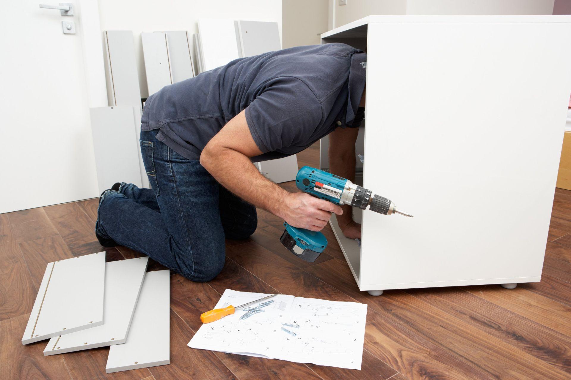 Assembling other IKEA furniture