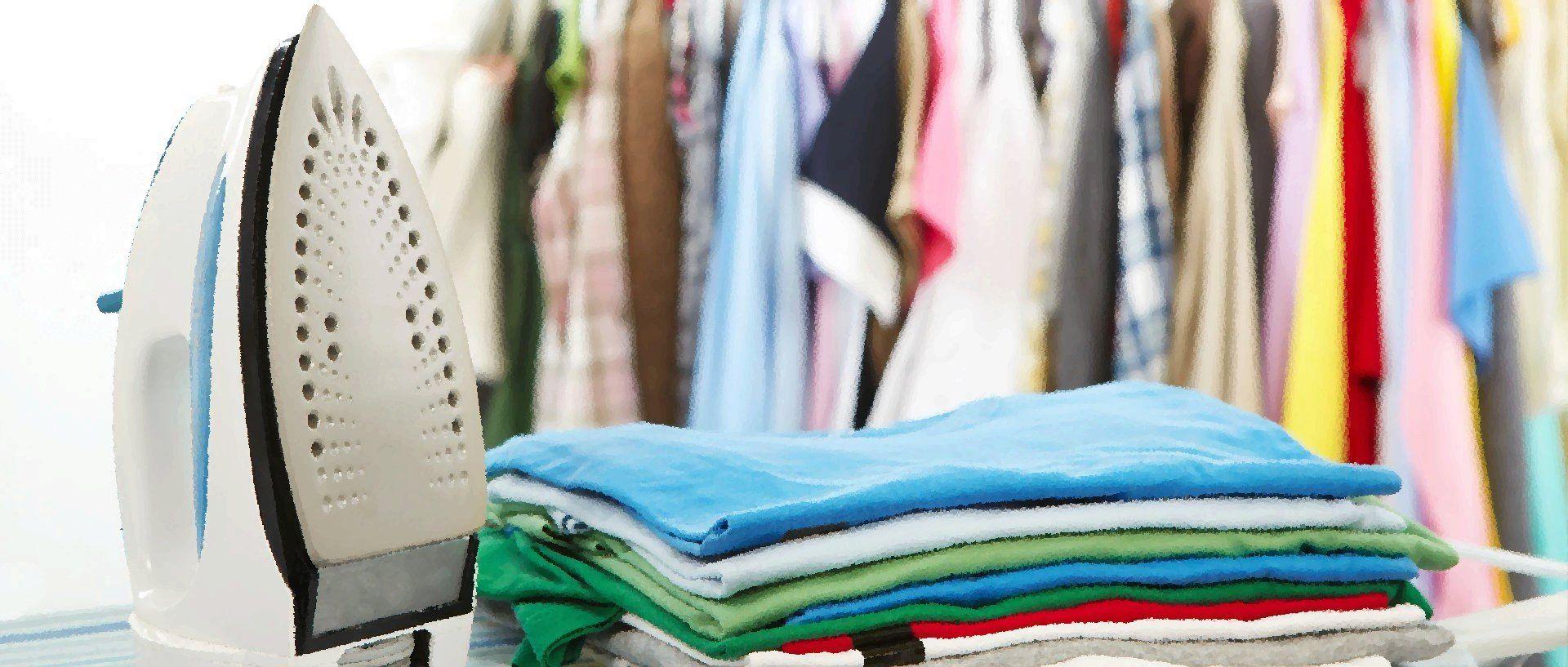 Washing and ironing things